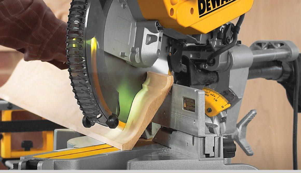 Dewalt DWS780 Header