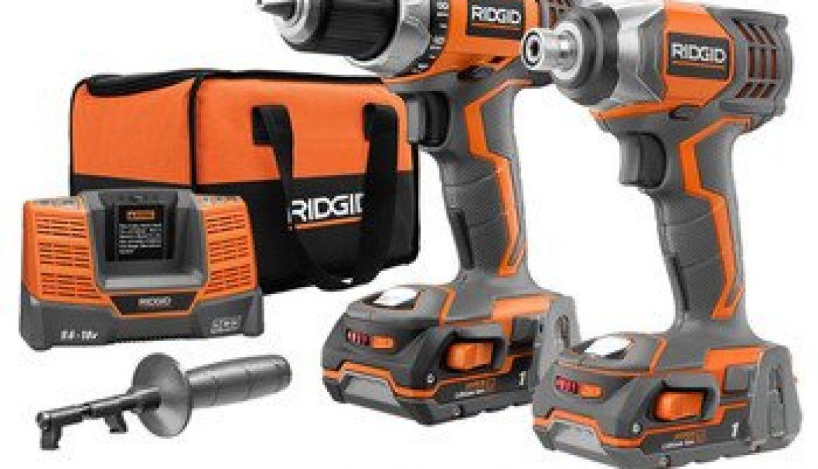 ridgid drill combo